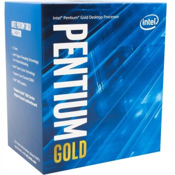 Процессор Intel Pentium Gold G6405 4.1GHz (4MB, Comet Lake, 58W, S1200) Box (BX80701G6405)