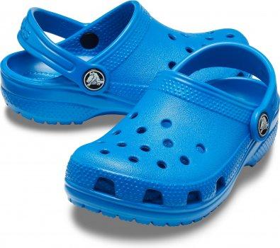 Сабо Crocs Kids' Jibbitz Classic Clog 204536-4JL Синій
