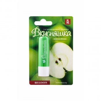 RELOUIS, ПОМАДА Гігієнічна, Смакота_ Зелене яблуко, 3,35 м(4810438008488)