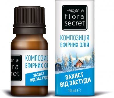 Композиція ефірних масел Flora Secret Захист від застуди 10 мл (4820174890797)