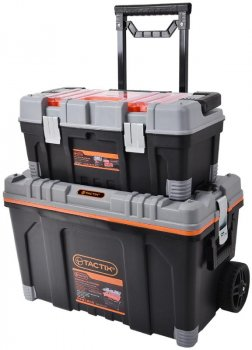 Ящик(Кейс)Чемодан на Колесах Для Инструментов 2 в 1 TACTIX 320308