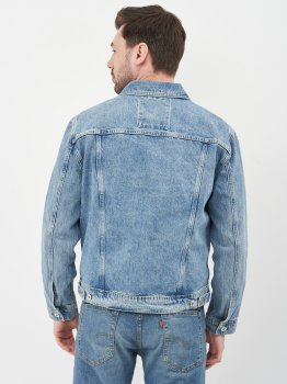 Джинсова куртка Superdry M5010277A-3MG Broom Light Blue