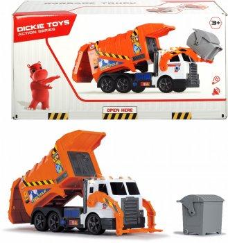 Автомобиль Dickie Toys Мусоровоз с контейнером и подъемником (1137000) (4006333060298)