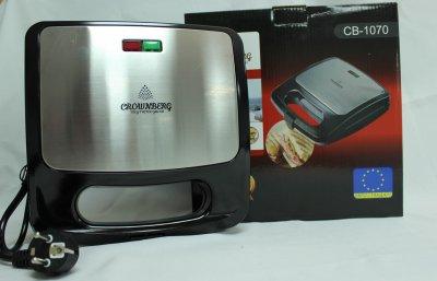 Сендвичница і гриль, електрогриль, контактний гриль, сэндвичница для бутербродів Crownberg CB 1070