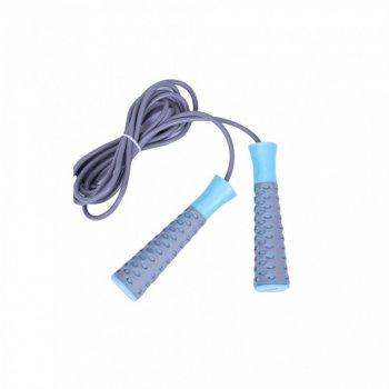 Скакалка швидкісна LiveUp PVC JUMPROPE LS3143-g 583-952