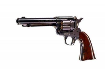 "Пістолет пневматичний Umarex Colt SAA .45-5.5"" BB Blue (5.8308)"