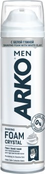 Пена для бритья ARKO Men Crystal 200 мл (8690506497361)