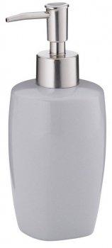 Дозатор для рідкого мила KELA Landora 400 мл (20407) сірий
