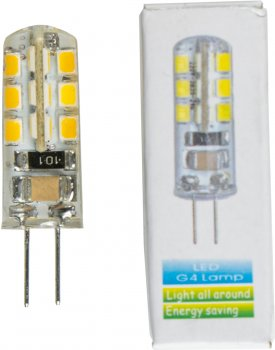 Светодиодная лампа Altalusse G4 2W 3000 К 220V (G4 bulbs 2W-3) 3 шт