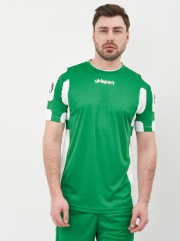 Футбольная форма Uhlsport 1003084-004 Зеленая с белым
