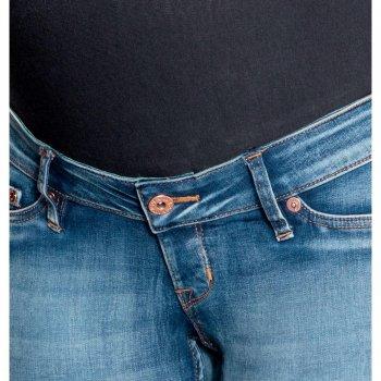 Джинси для вагітних H&M 4695620-AAQJ Темно-сині