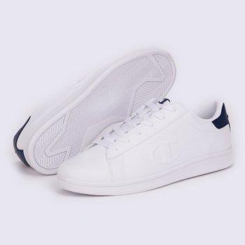 Мужские кеды Champion Low Cut Shoe Andrea Белый с синим (chaS21599-WHT/NNY)