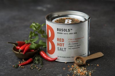 Приправа соль с травами RED HOT SALT BUSOLS 200грам