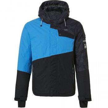 Куртка Rehall Isac Черный-Голубой