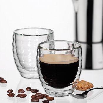 Набір склянок Kela Cesena для еспресо 80 мл 2 шт. (12410)