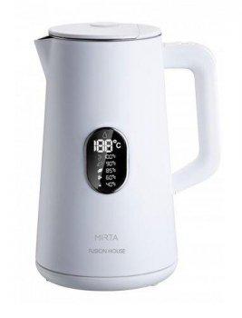 Чайник MIRTA KT-1000W Fusion House (1800Вт, 1,5л, LED-диспл, 5 режимов нагрева, двойная стенка нерж)