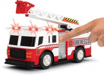 Машинка Dickie Toys Пожарная служба со световыми и звуковыми эффектами 15 см (3302014)