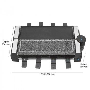 Раклетница CLATRONIC RG 3678 black