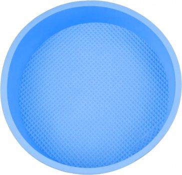 Форма для випікання Kitchenio кругла 26 х 26 см Блакитна (2000992407298)