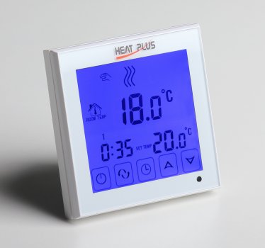 Терморегулятор Heat Plus BHT-323GB Білий (BHT323W)