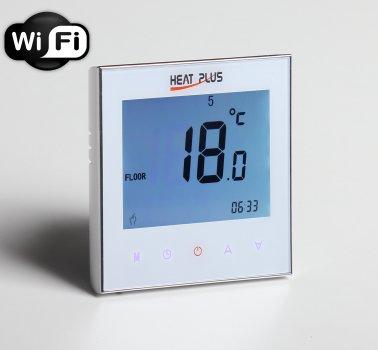 Терморегулятор Heat Plus Iteo4 Wi-Fi Білий (Iteo4WF)