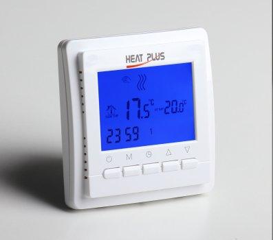 Терморегулятор Heat Plus BHT-306 Білий (BHT306)