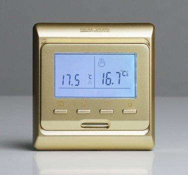 Терморегулятор Heat Plus M6.716 Золотой (M6716G)