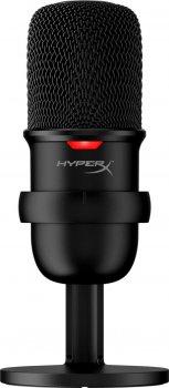Хит комплект Микрофон HyperX SoloCast (HMIS1X-XX-BK/G) + Мышь HyperX Pulsefire Haste USB Black (HMSH1-A-BK/G)