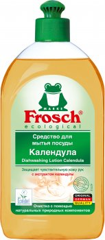 Бальзам для мытья посуды Frosch Календула 500 мл (4009175952578_1)