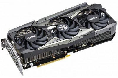 Відеокарта Inno3D GeForce RTX 3060 iCHILL X3 RED 12GB GDDR6 (192bit) (1837/15000) (3 x DisplayPort, HDMI) (C30603-12D6X-1671VA39A)