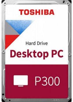 "Жорстку диск HDD 2TB Toshiba P300 3,5"", 5400rpm, SATA 3, 128MB (HDWD220UZSVA)"