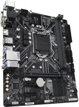 Мат. плата MB GigaByte H310M S2H 2.0 (iH310/s1151/2xDDR4 2666MHz/1xPCIe x16/2xPCIe x1/1x M. 2 Socket/4xSATA3/Lan/2xUSB3.1/4xUSB2.0/D-Sub, DVI, HDMI/Audio 7.1 ch/mATX)