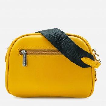 Женская сумка David Jones 2220028 Желтая (1000002220028)