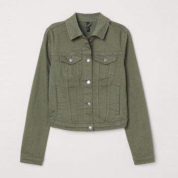 Джинсовая куртка H&M 5798658-ACYC Хаки