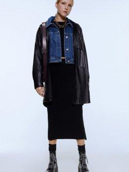 Джинсовая куртка Zara 6929/206/400 Синяя джинс