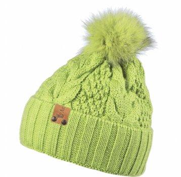 Зимняя шапка Anmerino Дарина 52-54 см Салатовая (4823055563346)