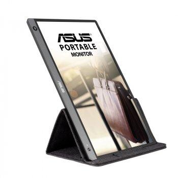 """Монітор ASUS 15.6"""" MB16AH IPS Black; 1920x1080, 250 кд/м2, 5 мс, USB Type-C, Micro HDMI, динаміки 2х1 Вт"""