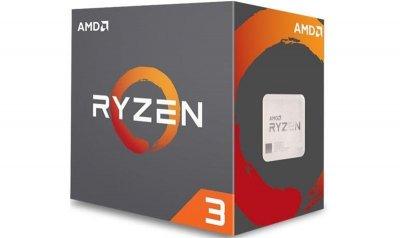 Процессор AMD Ryzen 3 1200 (3.1GHz 8MB 65W AM4) Box (YD1200BBAFBOX)