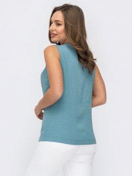 Блузка Dressa 53785 Блакитна