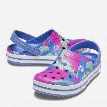 Сабо Crocs Crocband Ombreblock Clog 206593-4RV Голубые W