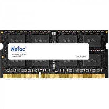 Модуль памяти для ноутбука SoDIMM DDR3L 8GB 1600 MHz Netac (NTBSD3N16SP-08)