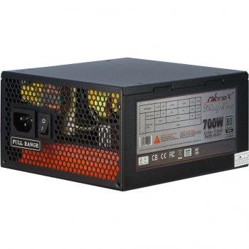 Блок живлення ПК Nitrox CN-700 NS 85+ Модульний ATX 2.3, 700Вт (CN-700 NS 85+)