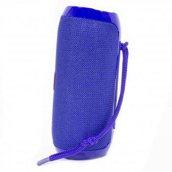 Портативна Bluetooth колонка T&G TG117 Blue безпровідна стерео колонка