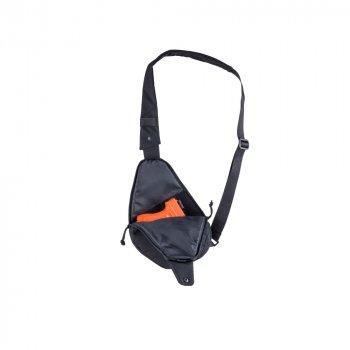 Сумка тактична через плече DANAPER Flat, чорний Black /1041099/
