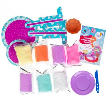 Набор для детской лепки из легкого пластилина GENIO KIDS «Весёлая выпечка» (TA1717)