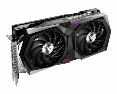 Відеокарта GeForce RTX 3060 MSI GAMING X 12Gb, GDDR6, PCI Express 4.0 x16, 192-bit, HDMI/3xDP, 1837/15000 MHz, 6-pin + 8-pin (RTX 3060 GAMING X 12G)