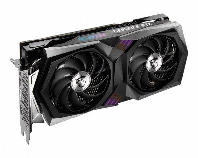 Видеокарта GeForce RTX 3060 MSI GAMING X 12Gb, GDDR6, PCI Express 4.0 x16, 192-bit, HDMI/3xDP, 1837/15000 MHz, 6-pin + 8-pin (RTX 3060 GAMING X 12G)
