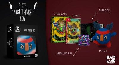 Коллекционное издание Nightmare Boy Monganos Edition Nintendo Switch