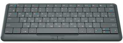 Клавиатура беспроводная Prestigio Click&Touch 2 Bluetooth (PSKEY2SGRU)