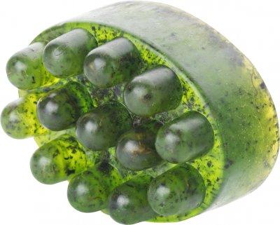 Антицеллюлитное массажное мыло-скраб Sapo Зеленый чай 130 г (ROZ6400106230)